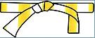 Kyu blanche et jaune